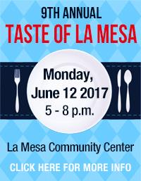 Taste of La Mesa 2017 Event Banner