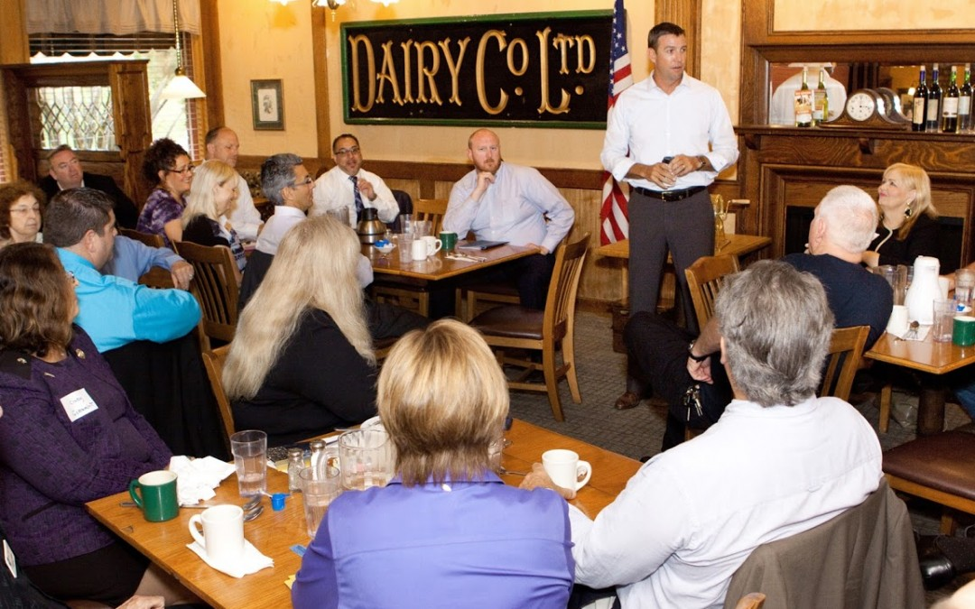 """Duncan Hunter """"Rocks the House"""" at the Breakfast Meeting!"""