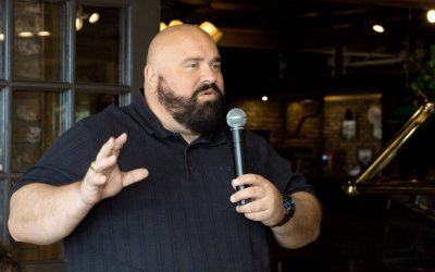 Mayor Mark Arapostathis Is an Informative Breakfast Speaker