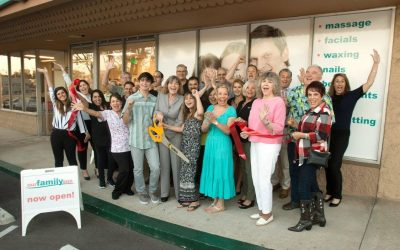 Our Family Spa Ribbon Cutting  Was a Real Treat!