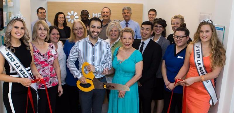 La Mesa Modern Dental Group Ribbon Cutting Warm and Friendly