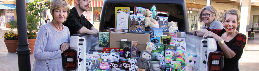 """Barnes & Noble & Chamber """"Stuff the Jeep"""" Project Will Make the Holidays Brighter for Military Families Again This Year!"""