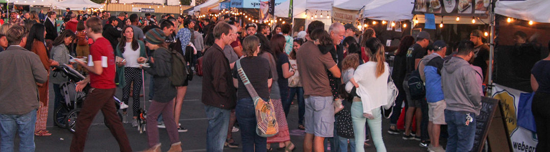 """The La Mesa Chamber Joined the Party at Grossmont Center on November 1st at the """"First Friday Night Market"""""""