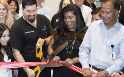 """Helix Dental has a """"Standing Room Only"""" Open House and Ribbon Cutting!"""